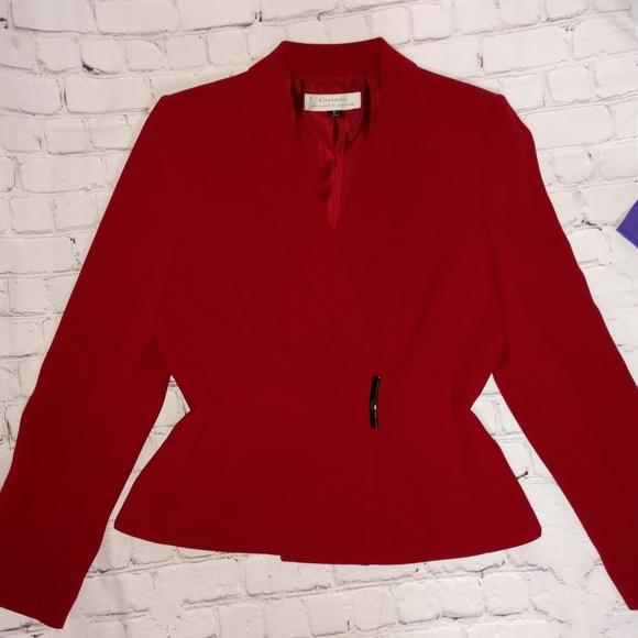 Tahari Jackets & Blazers - Red blazer